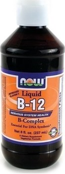 Picture of NOW  Vitamin B-12 Complex Liquid 237ml