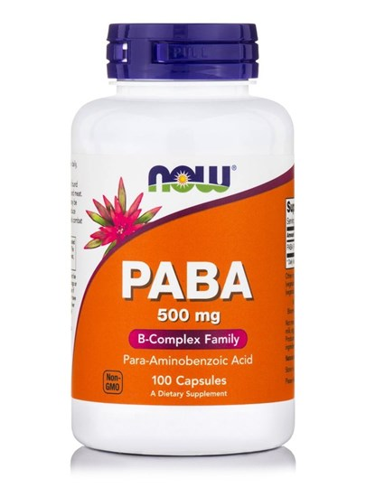 Picture of NOW PABA 500 mg 100Capsules