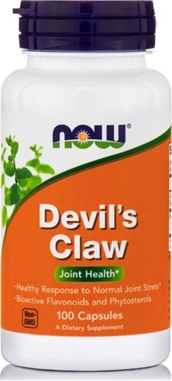 Picture of NOW Devil's Claw Veg 100Capsules