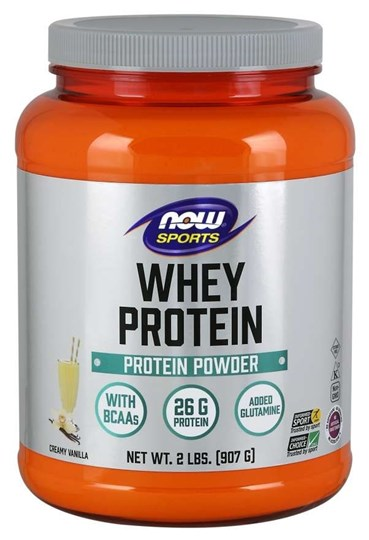 Picture of NOW WHEY PROTEIN VANILLA POWDER 907gr