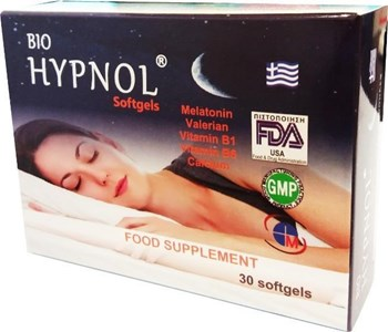 Picture of Medichrom Bio Hypnol 30 Softgels