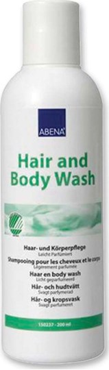 Picture of Abena Hair and Body Wash 200ml