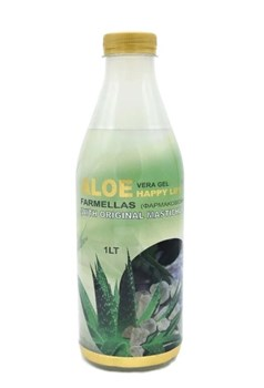 Picture of MEDICHROM ALOE VERA GEL HAPPY LIFE ΜΕ ΜΑΣΤΙΧΑ ΧΙΟΥ 1LT