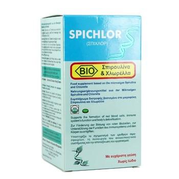 Picture of MEDICHROM Spichlor Βιο Spirulina & Chlorella 240tabs