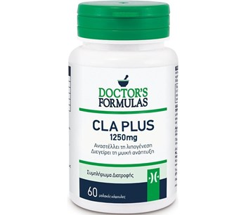 Picture of Doctor's Formulas CLA Plus 1250mg 60 κάψουλες