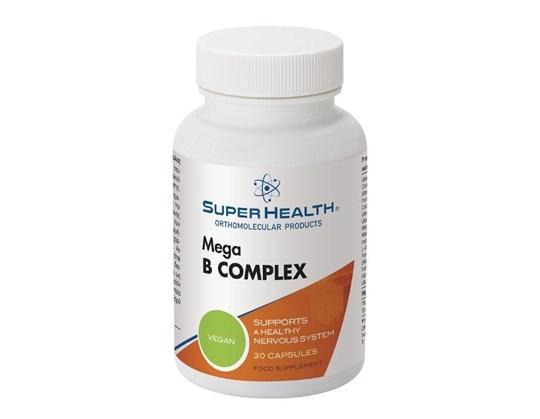 Picture of Super Health Mega B Complex 30caps