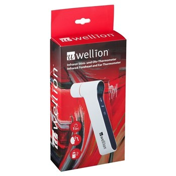 Picture of Wellion Infrared Forehead & Ear Thermometer Θερμόμετρο υπερύθρων μετώπου και αυτιού