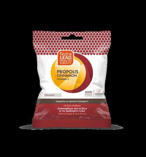 Picture of VITORGAN Pharmalead Cough Candies Καραμέλες με Πρόπολη, Κανέλα & Βιταμίνη C για το Βήχα & τον Πονόλαιμο 40gr