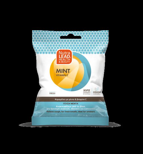 Picture of VITORGAN Pharmalead Cough Candies Mint Vitamin C Καραμέλες για το Βήχα 40gr