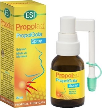 Picture of ESI Propolaid Propol Gola Σπρέι Χωρίς Αλκοόλ με Πρόπολη & Μέλι για το Βήχα & τον Ερεθισμένο Λαιμό 20ml