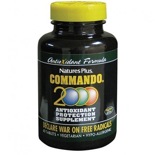 Picture of Natures Plus COMMANDO 2000 60tabs