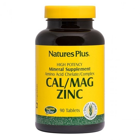 Picture of Natures Plus CAL/MAG/ZINC 90tabs