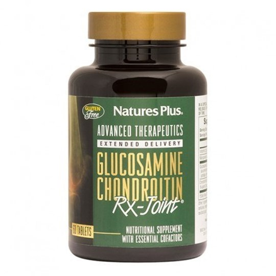 Picture of Natures Plus GLUCOSAMINE-CHONDROITIN-MSM Ultra Rx-Joint 60tabs