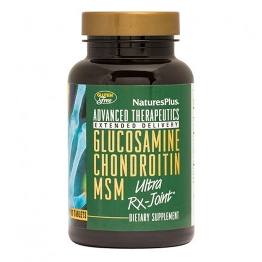 Picture of Natures Plus GLUCOSAMINE-CHONDROITIN-MSM Ultra Rx-Joint 90tabs