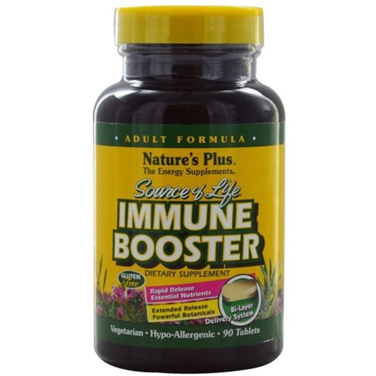 Picture of Natures Plus IMMUNE BOOSTER Adult Formula 90tabs