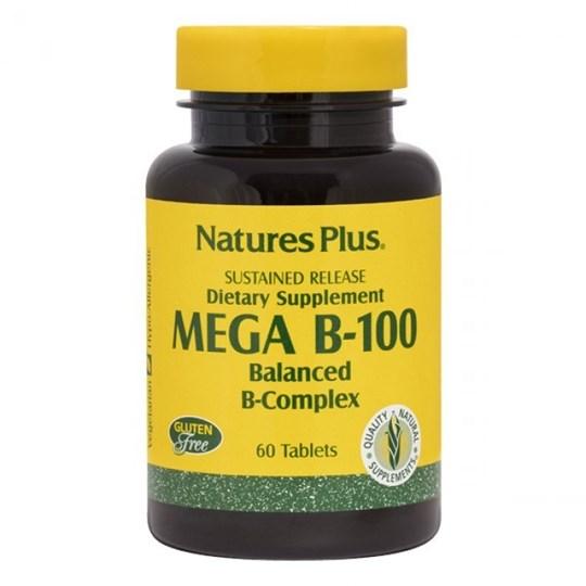 Picture of Natures Plus MEGA B-100 60 tabs