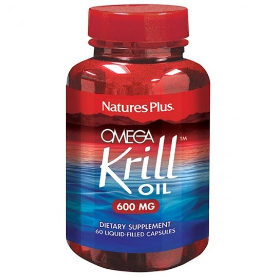 Picture of Natures Plus OMEGA KRILL OIL 600 mg 60Softgels