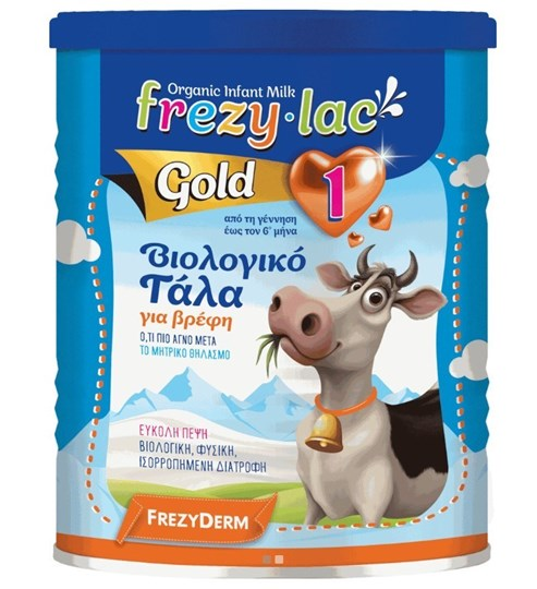 Picture of Frezylac Gold 1, Βιολογικό Γάλα για Βρέφη από την Γέννηση έως τον 6 μήνα 400gr