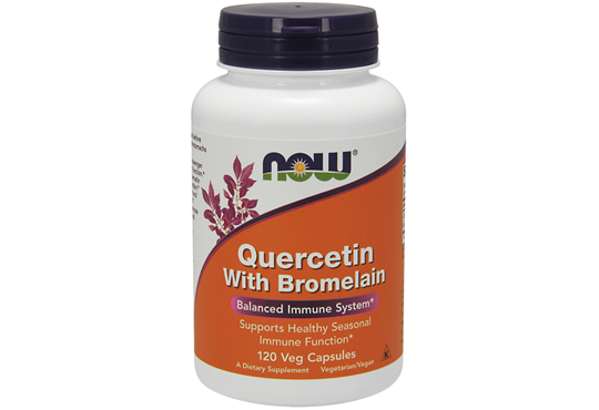 Picture of NOW Quercetin With Bromelain 120 Veg.caps