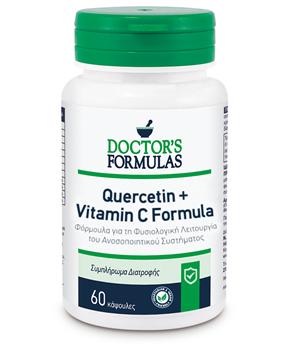 Picture of Doctor's Formulas Quercetin & Vitamin C Formula 60caps