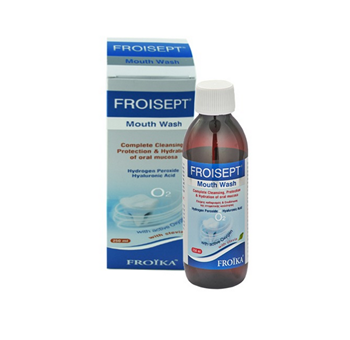 Picture of FROIKA Froisept Mouthwash με Στέβια 250ml