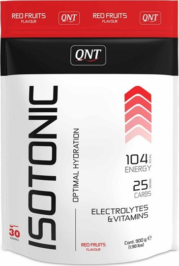 Picture of QNT Isotonic Powder Electrolytes & Vitamins Red Fruits 900gr
