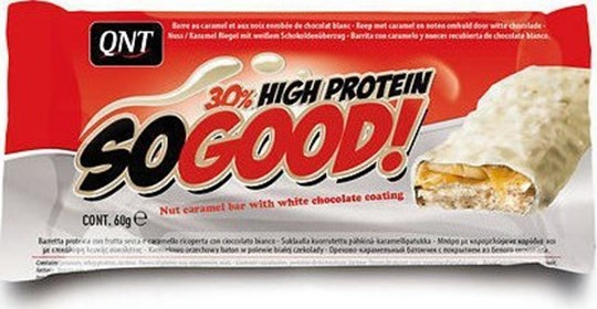Picture of QNT So Good! 30% High Protein 60gr White Chocolate