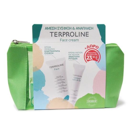 Picture of Synchroline Terproline Set Face Cream 50ml + Eyes and Lips Contour Cream 15ml
