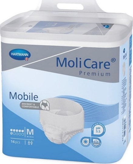Picture of HARTMANN MoliCare Premium Mobile Extra Plus Μπλε (6 Σταγόνες) 14τμχ Medium
