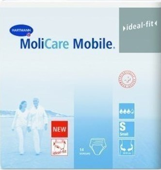 Picture of HARTMANN MoliCare Premium Mobile Extra Plus Μπλε (6 Σταγόνες) 14τμχ Small