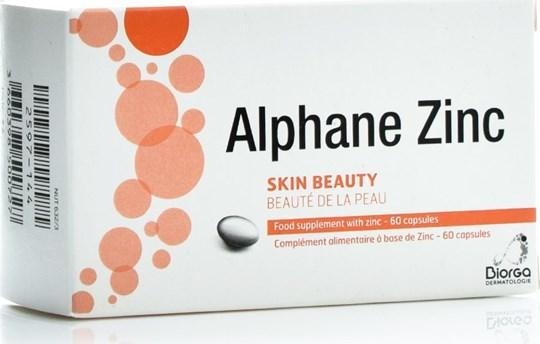 Picture of Biorga Alphane Zinc Skin Beauty 15mg 60caps