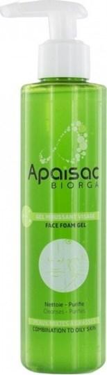 Picture of Biorga Apaisac Gel Moussant Visage 200ml