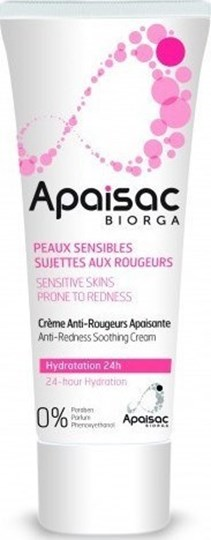 Picture of Biorga Apaisac Anti-Redness Soothing Cream 24ωρη Ενυδατική Κρέμα 40ml