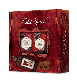 Picture of Old Spice Set Rock Antipersirant & Deodorant Stick 50ml + Old Spice Rock Shower Gel+Shampoo 250ml