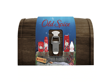 Picture of Old Spice Set Deep Sea Deodorant Stick 50ml + Old Spice Deep Sea Deodorant Body Spray 150ml + Old Spice Deep Sea Shower Gel 250ml + Old Spice Deep Sea After Shave Lotion 100ml