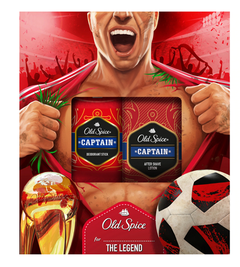 Picture of Old Spice Set Captain Deodorant Stick 50ml + Old Spice Captain After Shave Lotion 100ml