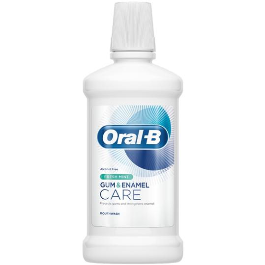 Picture of Oral-B Στοματικό Διάλυμα Gum & Enamel Care Fresh Mint 500ml