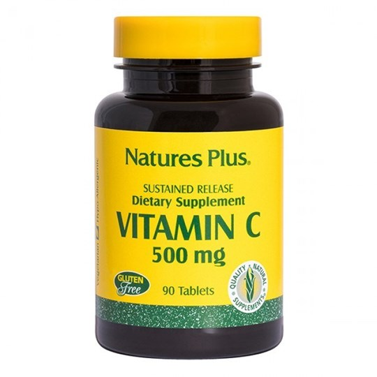Picture of Nature's Plus Vitamin C 500mg 90tabs