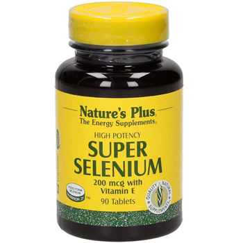Picture of Natures Plus SUPER SELENIUM 200mcg 90tabs