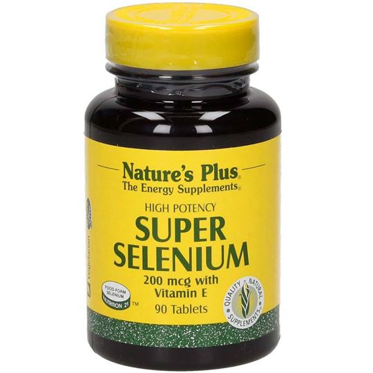 Picture of Natures Plus SUPER SELENIUM 200mcg 90tabs