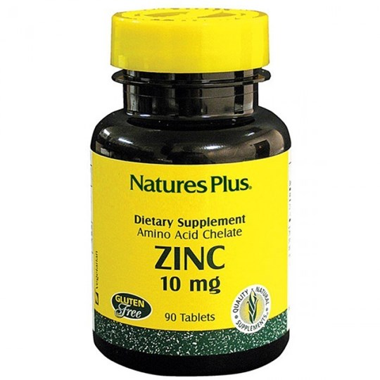Picture of Natures Plus Zinc 10mg 90tabs