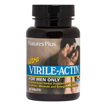 Picture of Nature's Plus Ultra Virile Actin for Men Only 60 tabs