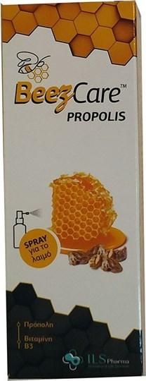 Picture of ILS Pharma Beezcare Propolis Spray για τον Ερεθισμένο Λαιμό 30ml