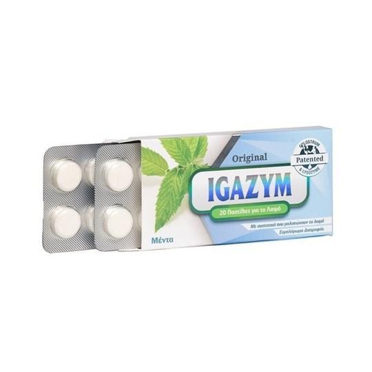 Picture of Igazym Original Peppermint Παστίλιες που Μαλακώνουν το Λαιμό με Άρωμα Μέντα 20tem