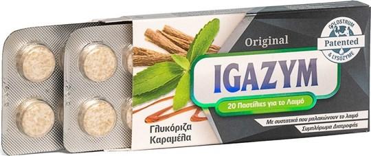 Picture of Igazym Original που Μαλακώνουν το Λαιμό με γεύση Γλυκόριζα Καραμέλα 20τμχ