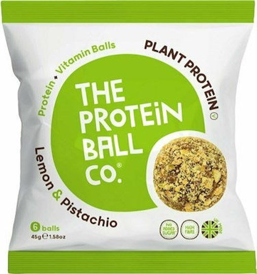 Picture of The Protein Ball Co Lemon & Pistachio 45gr 6 balls