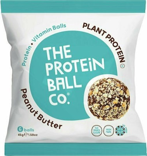 Picture of The Protein Ball Co Peanut Butter VEGAN 45gr 6 balls