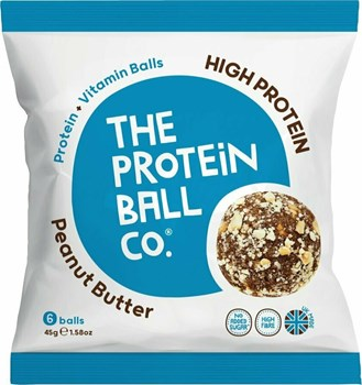 Picture of The Protein Ball Co Peanut Butter 45gr 6 balls