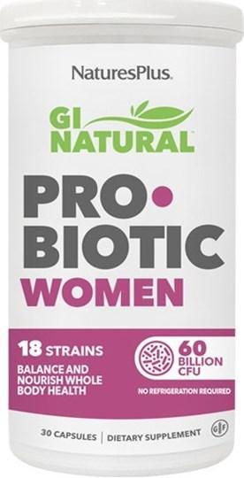 Picture of Natures Plus GI Natural Probiotic Wοmen 30 caps