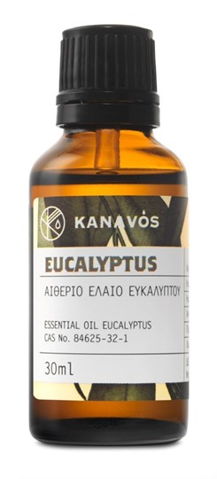 Picture of ESSENTIAL OIL EUCALYPTUS KANAVOS 30ML